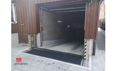 Anhamm - Model ANSI 2510 - Automatic Flood Gate for Water Stop