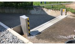 Full Automatic Flood Protection Barrier From Anhamm - Video