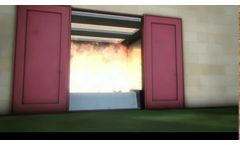 Anhamm FM Flammable Liquid Stop Barrier: Chemical Retention and Fire Protection - Video