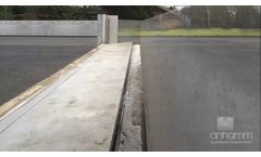 Anhamm Automatic Flood Barrier Time Lapse - Video