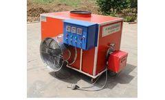 Jindun - Model JD - Oil-Burning Air Heater for Poultry House