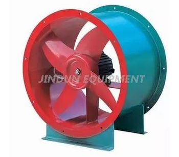 Jindun - Model JD Series - Axial Flow Type Ventilation Exhaust Cooling Fan for Greenhouse and Poultry House