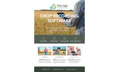 Pear - Professional Crop Management Software for Agronomists - Brochure