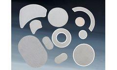 Introduction of polymer melt filter elements