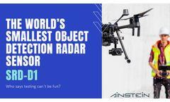 SRD-D1 By Ainstein Is The World's Smallest Object Detection Radar Sensor - Video