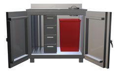 Kvark - Large Flood Waste Storage Cabinet