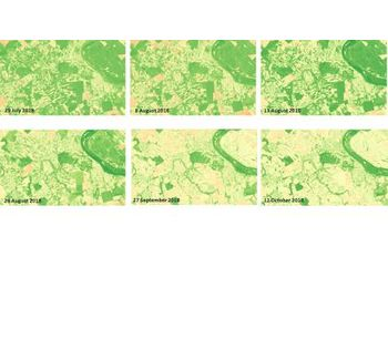 Evolution of satellite image data in agriculture