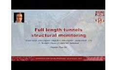 Full Length Tunnel Structural Monitoring - Hydro2020 Conference Presentation - Video