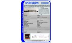 CO-L-MAR - Model GP1280 - Hydrophone - Brochure