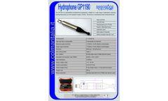 CO-L-MAR - Model GP1190 - Omnidirectional Hydrophone - Brochure