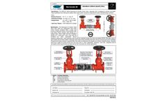 Barracuda - Model 20 - Double Check Valve Backflow Preventer - Brochure