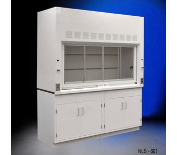 6' Fume Hood w/ Storage Cabinets-1