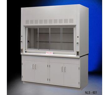6' Fume Hood w/ Storage Cabinets-2