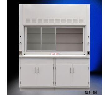 6' Fume Hood w/ Storage Cabinets-3