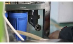 Ro system 250LPH reverse osmosis water system - Video