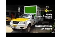 Mobile Advanced Electrochemical Based STP Construction @ RT Pure - Video