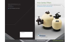 Emaux - Model Max - MFS Series - Side Mount Filter - Brochure