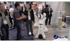 Amy Robotics Intelligent Amy Robot at CES 2018 - Video
