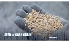 Testimonials `Almaz` grain cleaner. Awesome Agricultural Technology Inventions. - Video