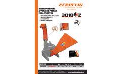 Zeppelin - Model ESTRF3018Z - Wood Chipper  - Brochure