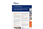TenCate Polyfelt - Model P - Protection Geotextiles Datasheet