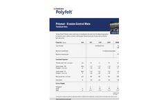 TenCate Polyfelt - Polymat Erosion Control Mats (ECM) Datasheet