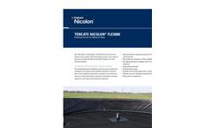 Tencate Nicolon - FLEX800 - Floating Covers for Manure Silos - Brochure