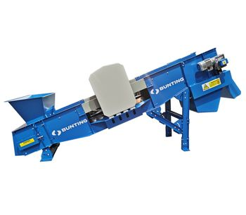 Bunting Extends Its Range with a Shredder Feeder Conveyor