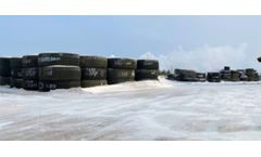 Kal Tire Recycles Mining Tyres