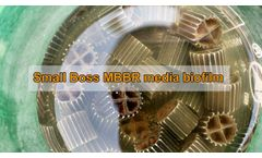 MBBR Media for Fish Farm Water - Video