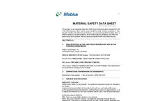 MPU Oil-Sorbent MSDS