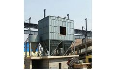 Taizhe - Model XLP-B - Cyclone Bag Filter House - Industrial Dust Collector for Factories