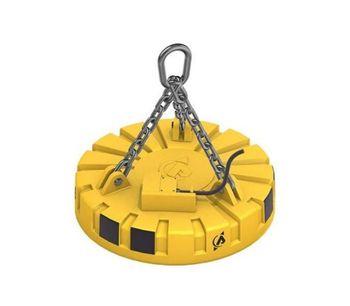 Model CGMA R - Circular Lifting Electromagnet