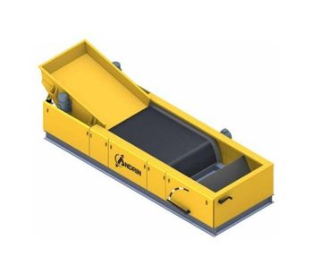 Model SMAR - Patented Eddy Current Separator