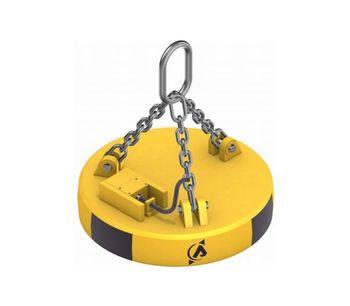 Model CSA - Circular Lifting Electromagnet