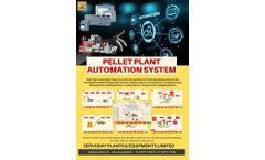 Servoday Pellet Plant Automation system - Brochure