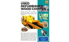 Servoday - Used Refurbished Wood Chippers