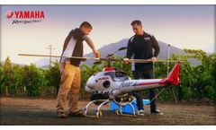 Precision Agriculture With Yamaha RMax Helicopter - Video