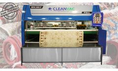 Table Type Automatic Carpet Washing Machine End System - Video