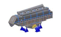 Model V2 - Variable Vector Fluid Bed Processor Drive
