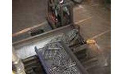 General Kinematics Blast System Vibrating Conveyors Video