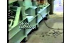 Air Classifier - Density Separator For Cleaning Rocks From Wood Video