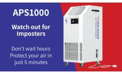 Don`t Wait Hours, Protect your Air in Just 5 Minutes! - Video