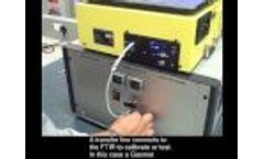 Chemical Sensor Testing OVG-4 Calibration Gas Generator - Video