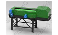 Idemag - Model IDGSM - Eddy Current Separator