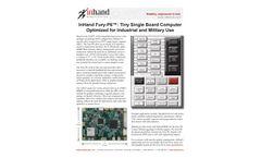 InHand Fury-P6™: Tiny Single Board Computer - Brochure