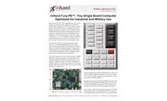 SECO USA Fury-P6 Tiny Single Board Computer Optimized for Industrial and Military Use - Brochure