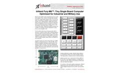 SECO USA Fury-M6 Tiny Single Board Computer Optimized for Industrial and Military Use - Brochure