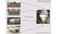 Henan Jinrui's cassava cleaning machines and cassava peeling and washing machine