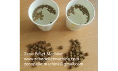 Extruding type fish feed pellet processing requirements